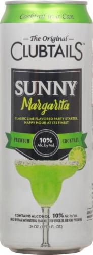 Clubtails™ Sunny Margarita Premium Cocktail Perspective: back