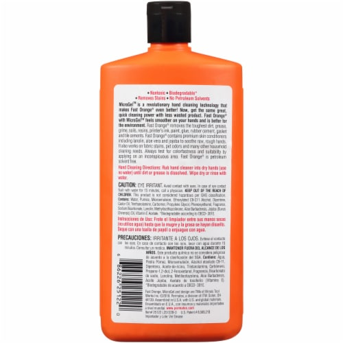 Fast Orange® Pumice Hand Cleaner Perspective: back