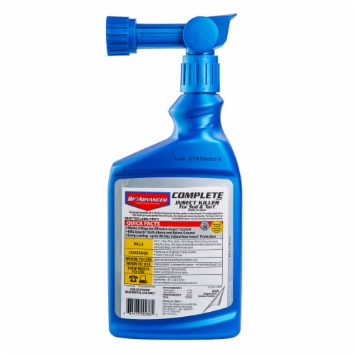 Bioadvanced Complete Insect Killer 2-Way Formula Perspective: back