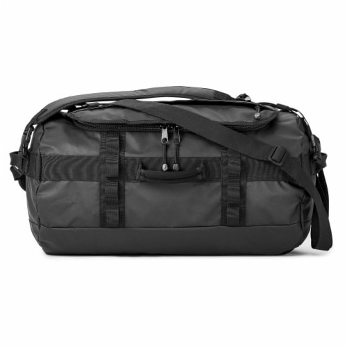 Marin Collection Water Resistant Duffle Black Perspective: back