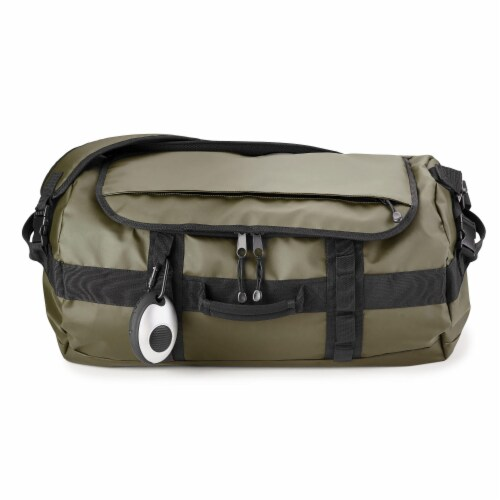 Marin Collection Water Resistant Duffle Green Perspective: back