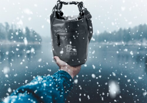 Marin Collection Water Resistant Drybag Black Perspective: back