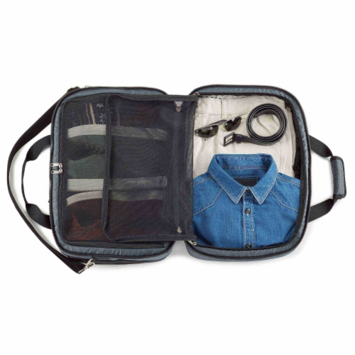 Marin Collection Duffle Bag Black Perspective: back
