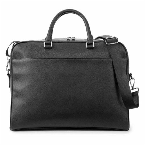 Marin Collection Brief Case Black Perspective: back