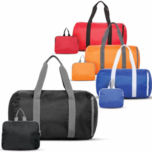 Marin Collection Duffle Bag Orange Perspective: back