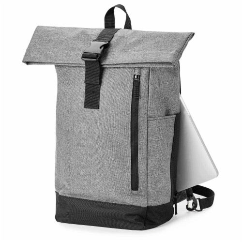 Marin Collection Backpack Grey Perspective: back