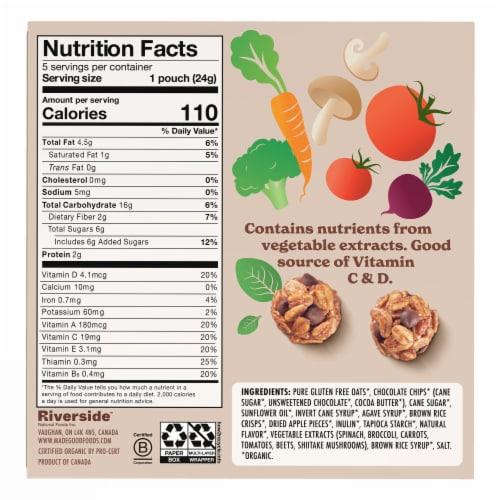 MadeGood Chocolate Chip Granola Minis Perspective: back