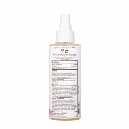Acne Defense Face Wash by Pacifica for Unisex - 5.8 oz Cleanser Perspective: back