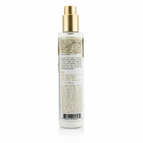 Malie Organics Coconut Vanilla Body Cream 222ml/7.5oz Perspective: back