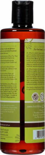 Dr. Woods Shea Vision Pure Castile Soap Tea Tree Perspective: back