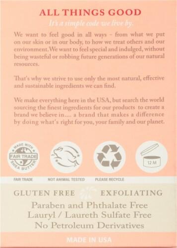 Dr. Woods Naturals Skin Lightening Rose Bar Soap Perspective: back