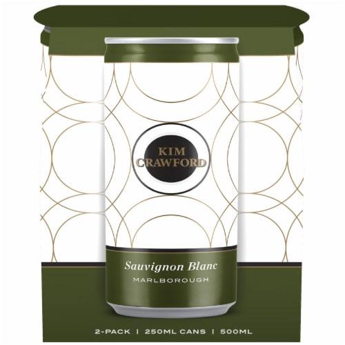 Kim Crawford Sauvignon Blanc Canned Wine Perspective: back