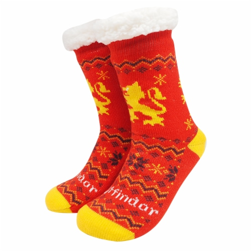 MTI Gryffindor Harry Potter Sherpa Sock Assortment Perspective: back