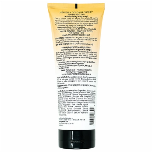 Vitabath® Heavenly Coconut Creme™ Body Wash Perspective: back