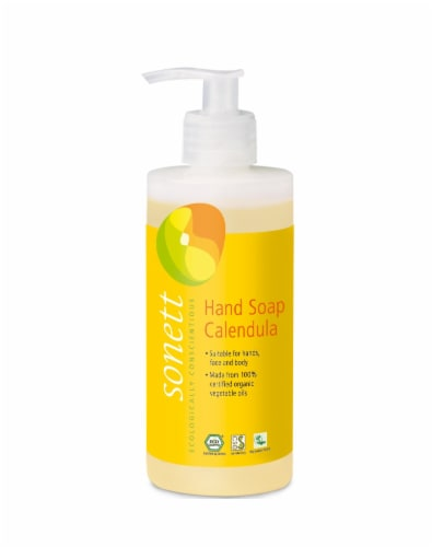 Sonett Organic Hand Soap Calendula Liquid Body Care Suitable For Hands ( Pack of 2 ) Perspective: back