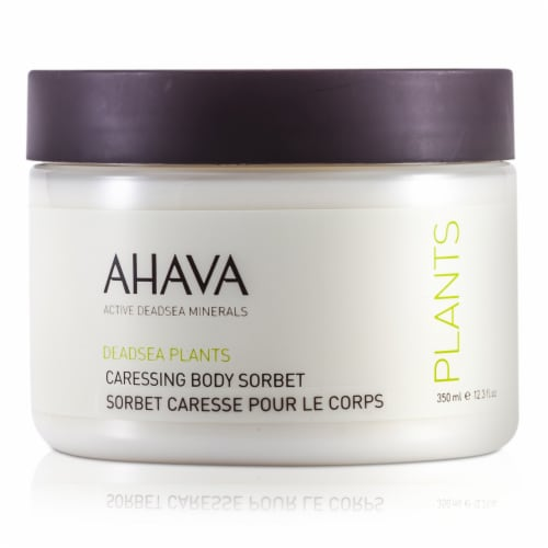 Ahava Deadsea Plants Caressing Body Sorbet 350ml/12.3oz Perspective: back