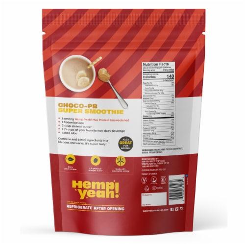 Manitoba Harvest Hemp Pro 70 Protein Supplements Perspective: back