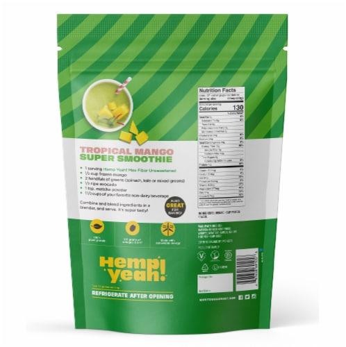 Manitoba Harvest Organic Hemp Pro Fiber Plant Based Protein Supplement Perspective: back