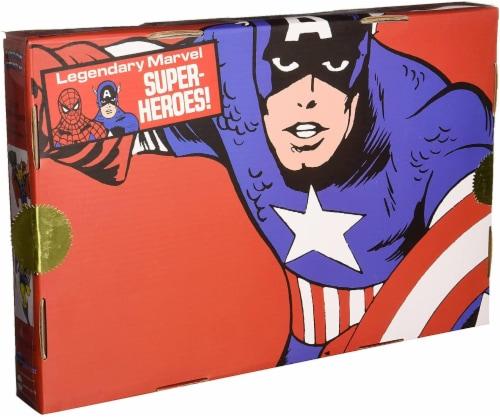 Marvel Captain America 8 Inch Retro Action Figure Set Perspective: back