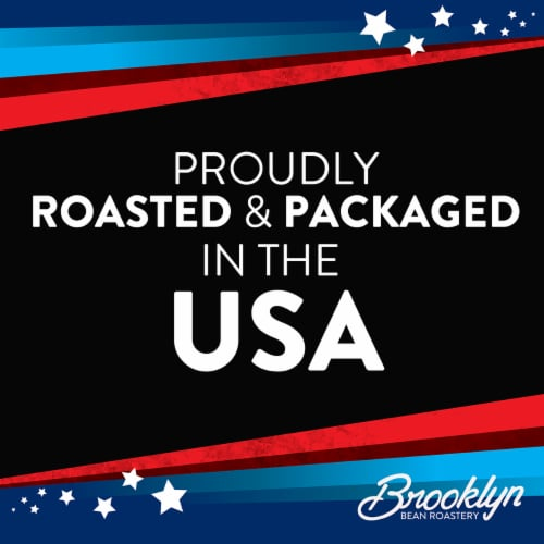 Brooklyn Beans Medium Roast Coffee Pods for Keurig 2.0, Colombian, Four-24 Count Boxes Perspective: back
