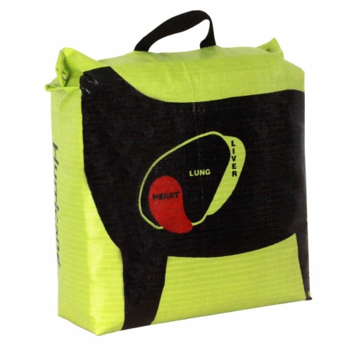 Hurricane H-20 Tri Core Technology 9 Target Deer Vitals Archery Target, Yellow Perspective: back