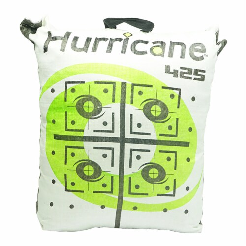 Hurricane H-28 Tri-Core Technology 9 Target Deer Vitals Archery Target, Yellow Perspective: back