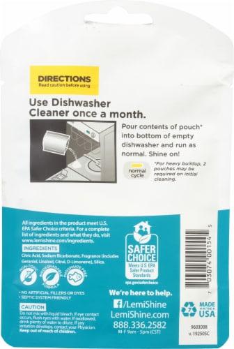 Lemi Shine® Dishwasher Cleaner Perspective: back