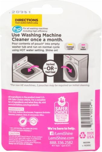 Lemi Shine® Washing Machine Cleaner Perspective: back