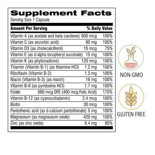 Botanic Choice  START! Multi-Vitamin for Men Dietary Supplement Perspective: back