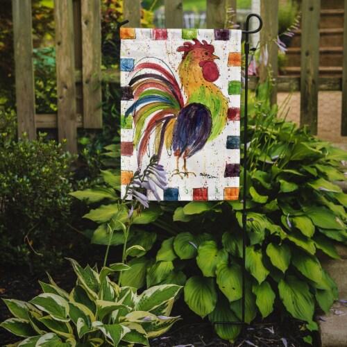 Carolines Treasures  8071-FLAG-PARENT Rooster  Flag Perspective: back