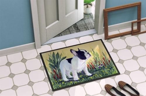 Carolines Treasures  SS8109MAT French Bulldog Indoor Outdoor Mat 18x27 Doormat Perspective: back
