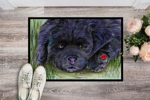 Carolines Treasures  SS8272MAT Newfoundland Indoor Outdoor Mat 18x27 Doormat Perspective: back