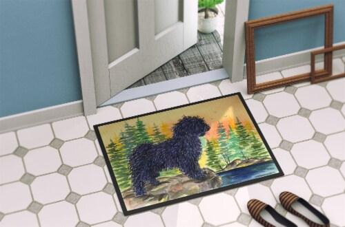 Carolines Treasures  SS8347MAT Puli Indoor Outdoor Mat 18x27 Doormat Perspective: back