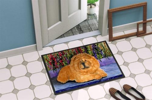 Carolines Treasures  SS8601MAT Chow Chow Indoor Outdoor Mat 18x27 Doormat Perspective: back