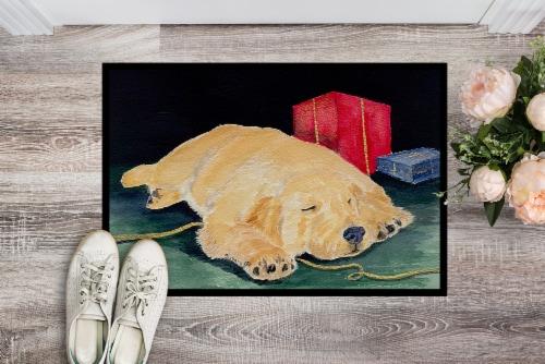 Carolines Treasures  SS8576JMAT Golden Retriever Indoor or Outdoor Mat 24x36 Doo Perspective: back