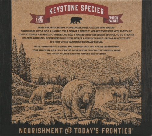Kodiak Cakes Protein-Packed Peanut Butter Crunchy Granola Bars Perspective: back
