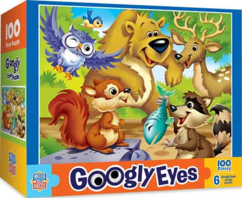 Woodlands Googly Eyes Jigsaw Puzzle Perspective: back