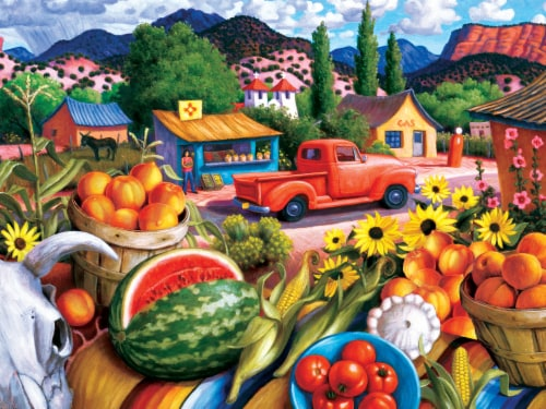 MasterPieces Roadsides of the Southwest Summer Fresh Puzzle Perspective: back