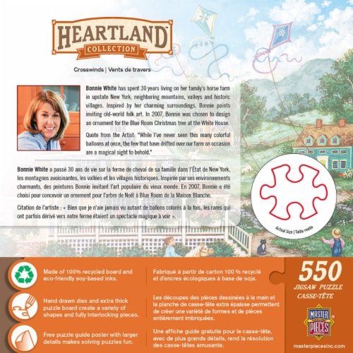 MasterPieces Heartland Collection Crosswinds Puzzle Perspective: back