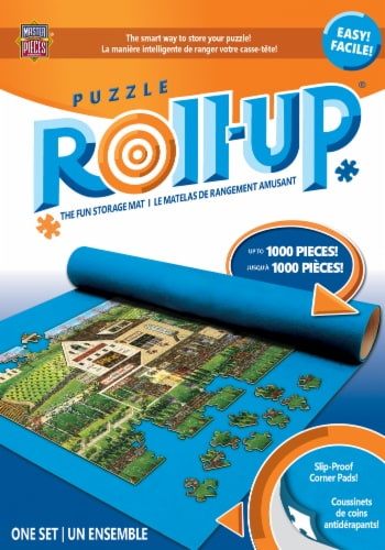 MasterPieces® Puzzle Roll-Up® Storage Mat Perspective: back