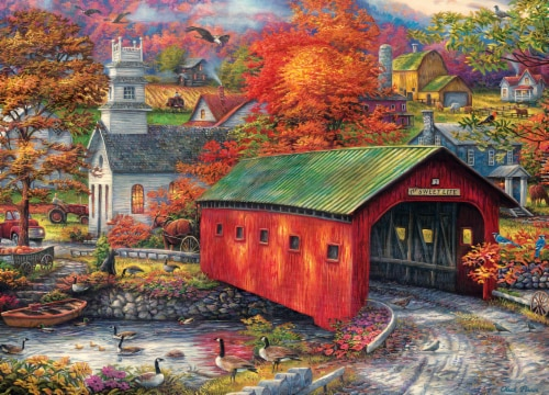 MasterPieces Art Gallery of Chuck Pinson The Sweet Life Puzzle Perspective: back