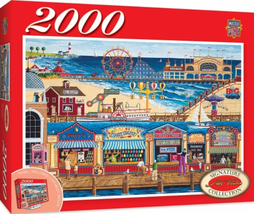 MasterPieces Signature Series Ocean Park Jigsaw Puzzle Perspective: back