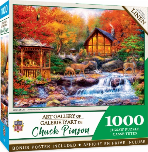 MasterPieces® Chuck Pinson Colors of Life Jigsaw Puzzle Perspective: back