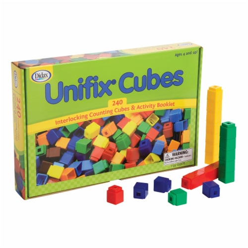 Didax UNIFIX® Cubes for Pattern Building Perspective: back