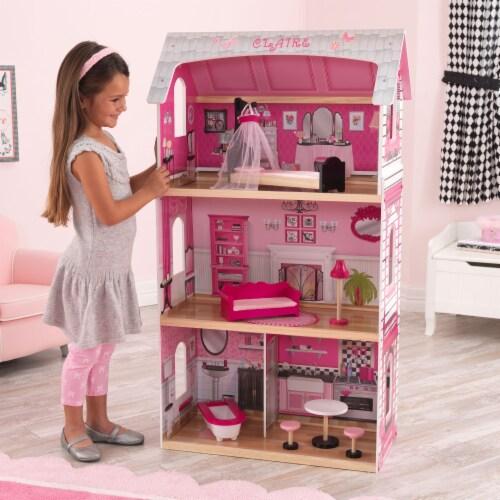 KidKraft Bonita Rosa Dollhouse Perspective: back