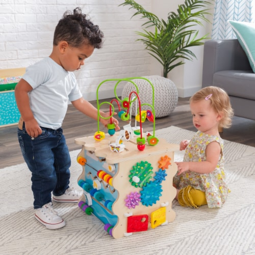 KidKraft World of Eric Carle™ Very Busy Activity Cube Perspective: back
