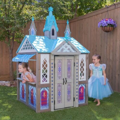 KidKraft Disney® Frozen Arendelle Playhouse Perspective: back