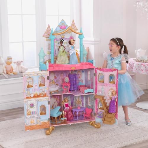 KidKraft KidKraft Disney Princess Dance & Dream Dollhouse Perspective: back