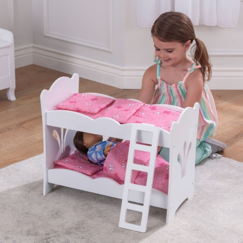 KidKraft Lil' Doll Bunk Bed Perspective: back
