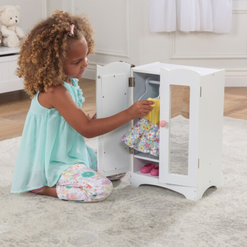 KidKraft Lil' Doll Armoire Perspective: back